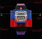 """Creative Children Calendar Cartoon """"The Transformers"""" Kids Wrist Watch, Blue"""