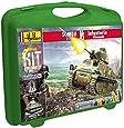 Heller - 60975 - Maquette De Char D'assaut - Somua & Infanterie Allemande - Petite Mallette - 88