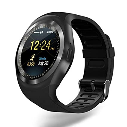 Amazon.com: dxS8hhuo Smart Watch | Y1 Touch Screen Pedometer ...