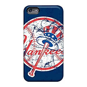 Shock Absorption Cell-phone Hard Cover For Apple Iphone 6s With Customized Nice New York Yankees Image Luoxunmobile333