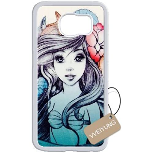 Diy Customized Cell Phone Case for Fairy Tale Princess White Samsung Galaxy s7 Hard Back Cover Shell Phone Case (Fit: Samsung Galaxy s7) Sales