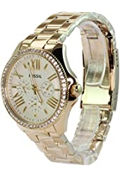 Fossil Women's AM4482 Cecile Multifunction Stainless Steel Watch - Gold-Tone