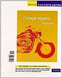 College Algebra, Dugopolski and Dugopolski, Mark, 0321655435