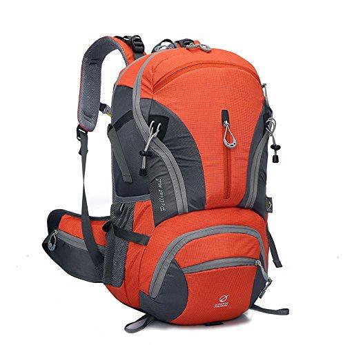 WuJiPeng Outdoor-Wanderrucksack Für Herren Und Damen Leichter 20-35L Reit- Und Kletterrucksack Wasserdicht Und Strapazierfähig Orange g9SBqW84