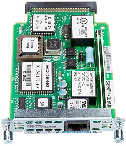 Cisco DSU/CSU High-Speed WAN Interface Card (HWIC-1DSU-56K4=) by Cisco