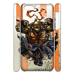 HXYHTY Ninja turtles Phone 3D Case For Iphone 5C [Pattern-6]