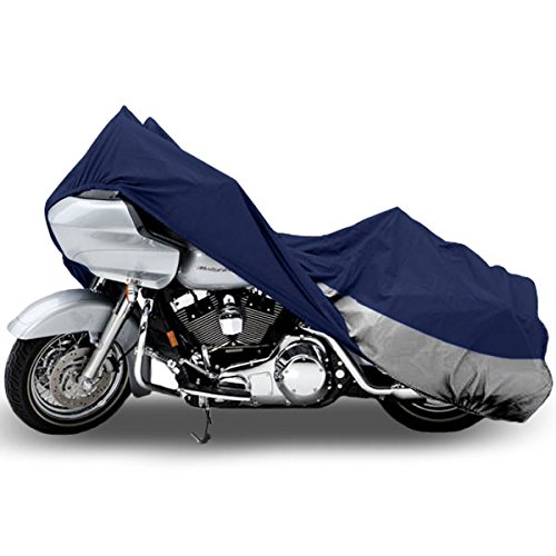 Superior Travel Dust Motorcycle Cruiser Cover Covers : Fits Up To Length 107