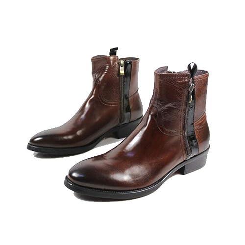 Botines De Los Hombres De La Comodidad De La Moda High-Top Zapatos Botas De Vaquero Botas De Estilo Europeo Y Americano Medio Botas: Amazon.es: Zapatos y ...