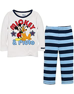 Mickey and Pluto Infant Boys 2pc Set