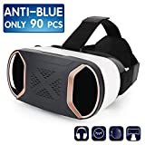 HongYuan 3D VR Headset Virtual Reality Glasses For Play Your Best Mobile Games & 360 Movies , More Comfortable VR Glasses Goggles Plus Special Adjustable Eye Care System