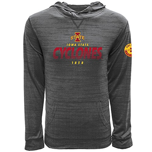 Levelwear LEY9R NCAA Iowa State Cyclones Men's Anchor Static Pullover Hoodie, X-Large, Heather ()