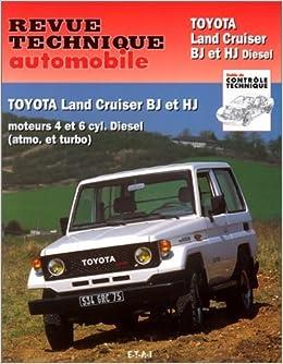 Toyota Land Cruiser. série BJ et HJ. Moteurs diesel de Revue technique automobile 1994 Broché: Amazon.es: Revue technique automobile: Libros