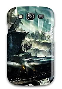 meilz aiaiTpu Shockproof/dirt-proof Amazing Crysis Poster Cover Case For Galaxy(s3)meilz aiai
