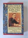 The Early Verse by Rudyard Kipling, 1879-1889, Rudyard Kipling, 019812323X