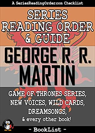 George R. R. Martin Series Reading Order & Guide: Game of
