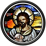 JESUS Wall Clock religious christian god christ bible biblical savior gift