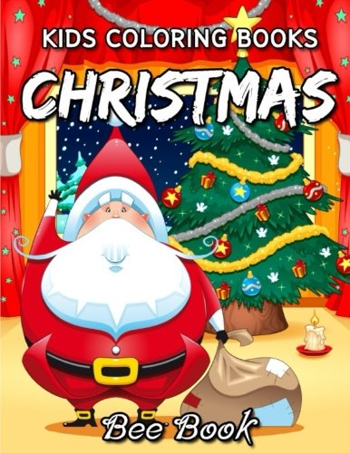Kids Coloring Book Christmas by Bee -