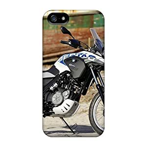 For Iphone 5C Tpu Phone Cases Covers(bmw G550 Gs Sertao Motorcycles)