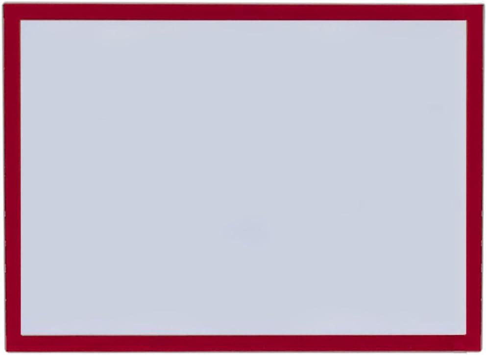 A4 rouge Bi-Office 5 unit/és Cadre daffichage magn/étique
