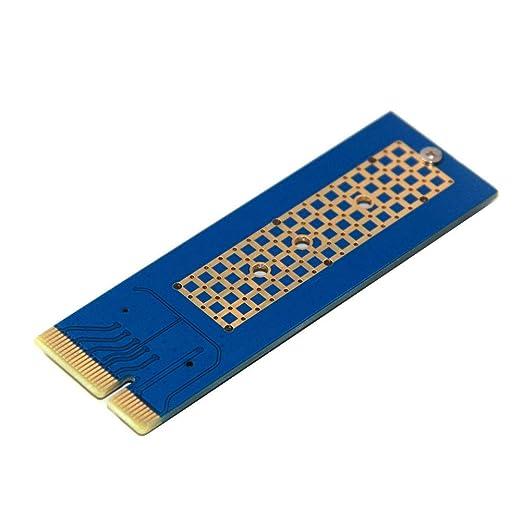 Hearthyrousy Adaptador SSD Placa de Adaptador PCI-Express 4X 8X ...