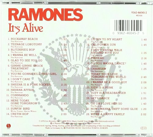 Ramones Its Alive Amazon Music