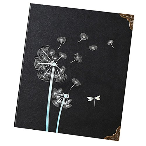 Photo Album DIY Self-adhesive Black Pages Scrapbooking by East Majik
