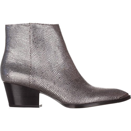 Calvin Narice Klein Silver Boots Lizard Ankle Jeans faPwqvf