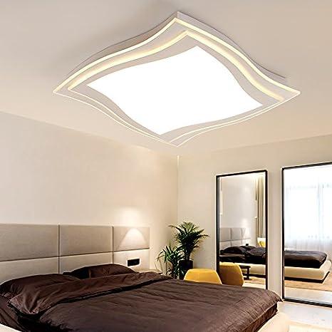 XMZ Luz de techo moderno candelabros de luz de sala, comedor ...