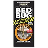 Harris Bed Bug Barrier Tape, Discreet Trap for Bed Posts - 8 Traps Included