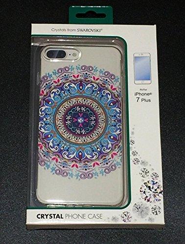 Exquisite Design (Life Circle Series) Protective Slim Encrusted Swarovski Crystals Case for Apple iPhone 7 Plus 7+