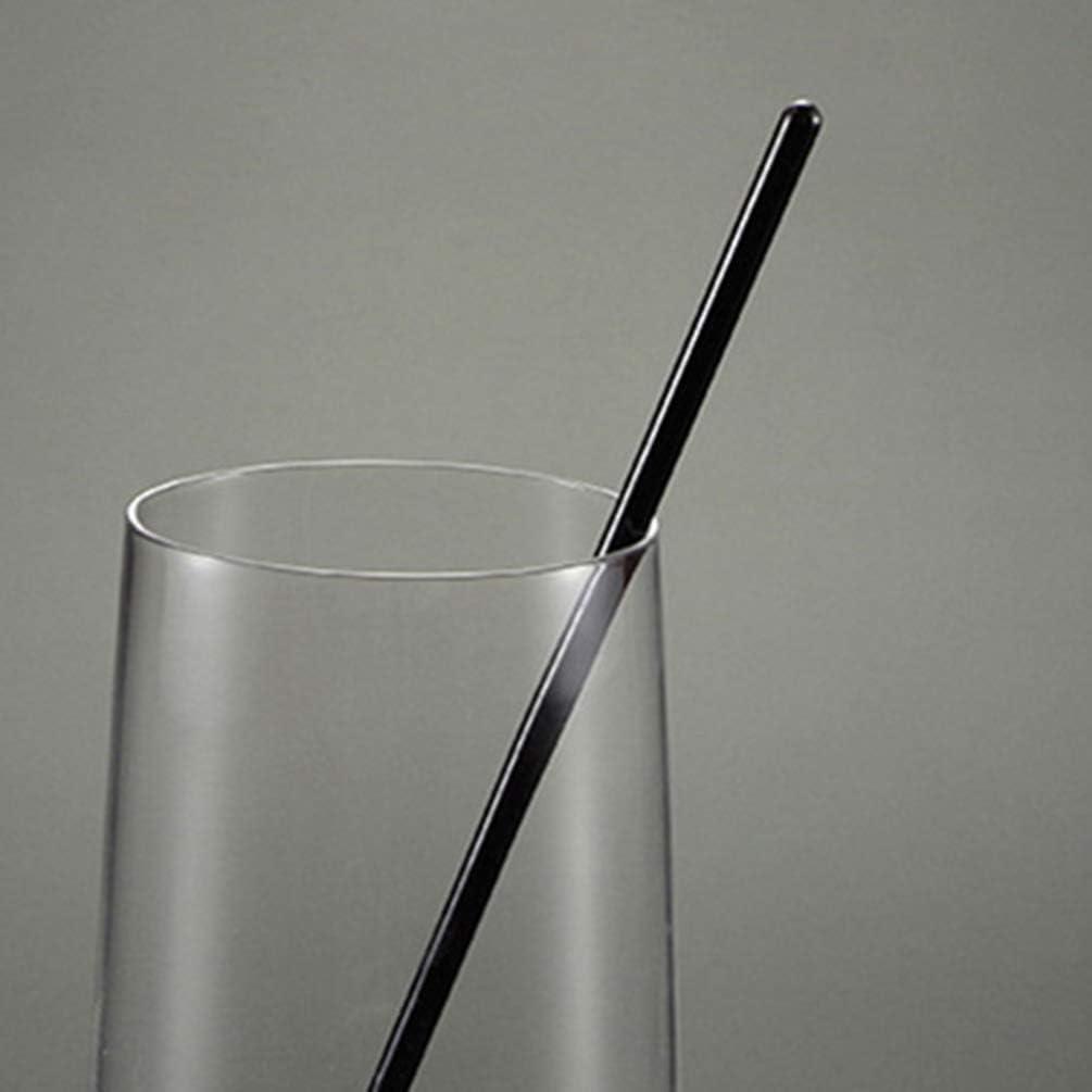 UPKOCH 12 bastoncini rotondi in plastica trasparente in PVC per succhi e vino