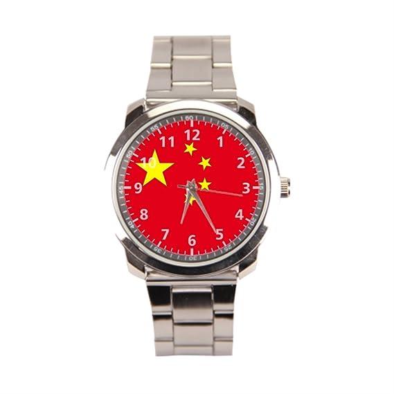hottsummer China país reloj de pulsera en línea hombres: Amazon.es: Relojes