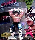 Atlantis Action Figure - El Señor de la Atlántida - LUCHADORES de CMLL - Consejo Mundial De Lucha Libre - Todas Las Estrellas de Lucha Libre