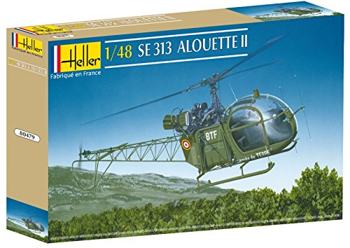 Heller SA 313 Alouette II Helicopter Model Building Kit