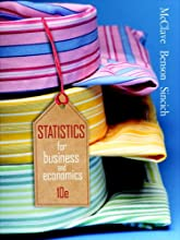Statistics for Business & Economics (10th Edition) (Hardcover)
