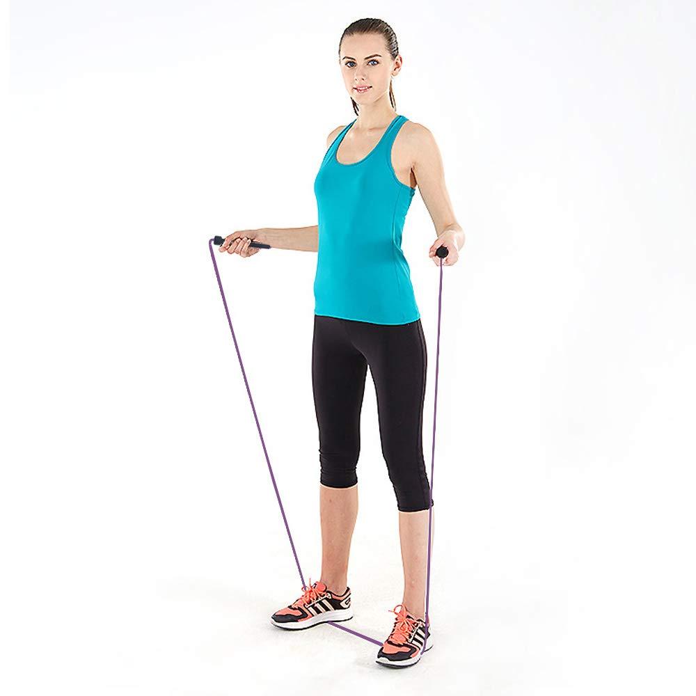 SY-JP1001 Boxe, Musculation, Gym, MMA ISE Corde /à Sauter Facilement r/églable 3 m c/âble La Poign/ée Souple et C/âble Ajustable,Rope Skipping pour Entrainement Fitness