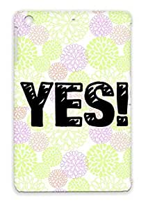 Anti-shock Miscellaneous Art Design Yes Words Bang Black Yes With A Bang Case Cover For Ipad Mini