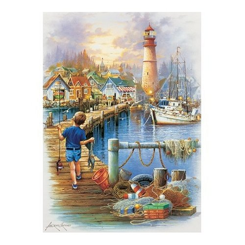Master Pieces The Big Catch 1000 Piece Jigsaw Puzzle ()