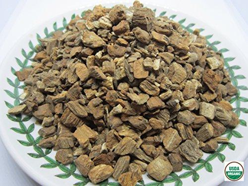 Organic Burdock Root 우엉차 - Arctium lappa Roasted Loose Burdock Root Cut 100% from Nature (8 oz)