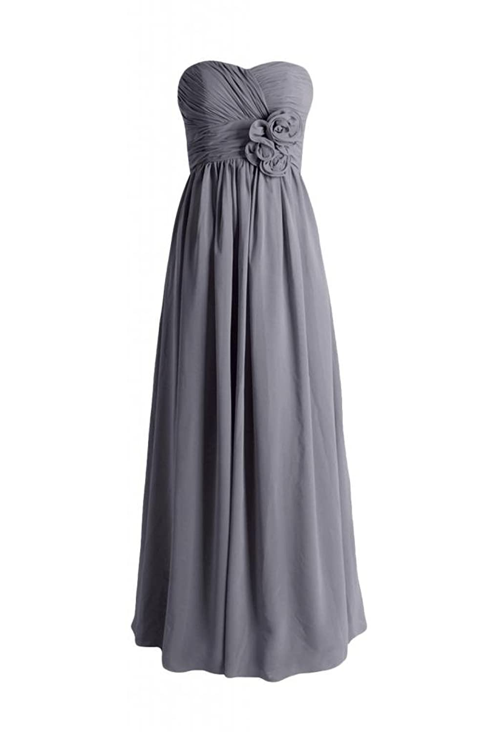 DaisyFormals Long Chiffon Evening Dress Sweetheart Party Gown(BM224)