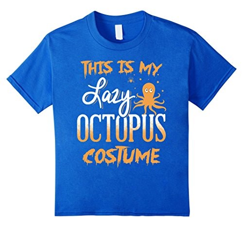 This Is My Lazy Octopus Halloween Costume Shirt