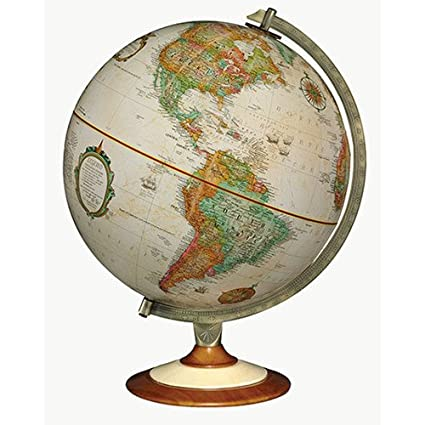 Antique Desk Globe - Amazon.com: Replogle Salem 12 In. Antique Desk Globe: Toys & Games