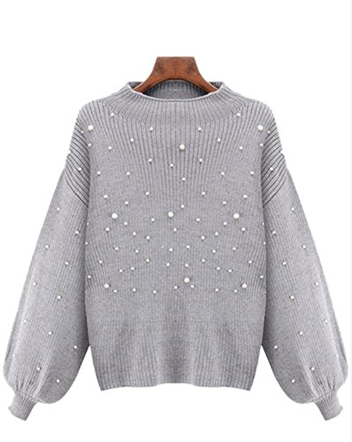 Beaded Cashmere Sweater - 5