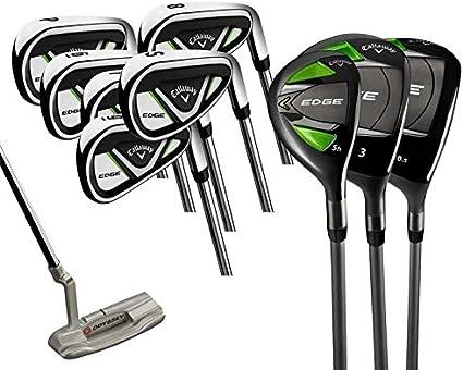 Amazon Com Callaway Unisex S Edge 10 Piece Golf Set Right Handed 10525 Cm Sports Outdoors