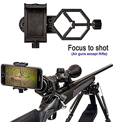 Universal Mobile Phone Holder,Spotting Scope Cellphone Adapter Mount from Lanboo