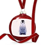 Christmas Decoration Geometric Animal art Baby Emperor Penguin Ornament