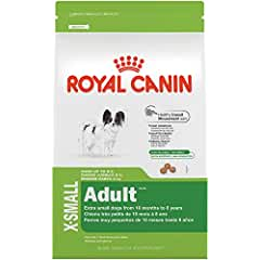 Royal Canin Size Health Nutrition X-Small Adult Dry Dog Food (our Best Dog Food for Bichon Frisé)
