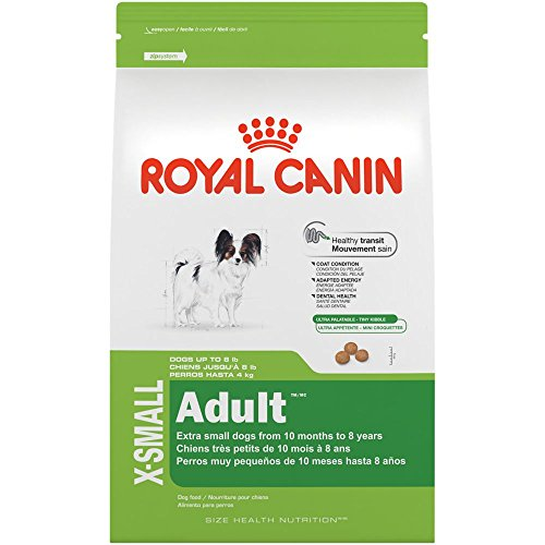 ROYAL CANIN SIZE HEALTH NUTRITION X-SMALL Adult dry dog food, 2.5-Pound