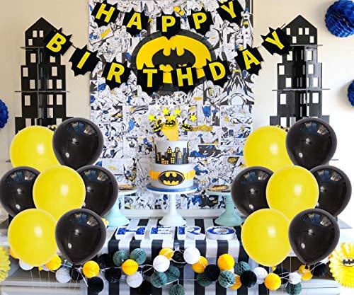 Suministros de la Fiesta de cumpleaños de Batman Halloween ...