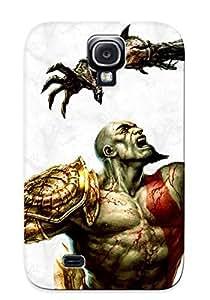 New VvvQTey877jmEWv God Of War 3 Skin Case Cover Shatterproof Case For Galaxy S4